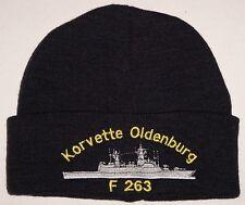 Mütze Rollmütze Bordmütze Korvette Oldenburg F263 .........B3320