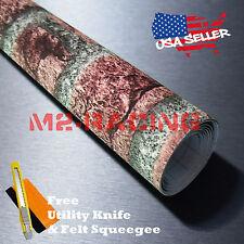 """*36""""x48"""" Red Brick Stone Textured Vinyl Background Wall Sticker Wallpaper BIR04"""