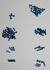 Tamiya TA05/TA05v.2/TRF416 Pro Blue Aluminum Hex Head Screw Kit - 85pcs (NEW)