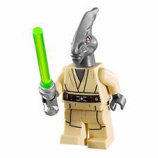 LEGO STAR WARS COLEMAN TREBOR JEDI MINIFIG FROM GEONOSIS MACE AT-TE SET 75019