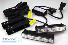 High Quality DRL Daytime Running Lights Front Daylight Lamps 4-LED CREE HQ-V9 D