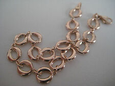 9ct rose gold bracelet with links SPECIAL ARRIVAL ON PROMOTION