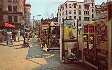 New York City, Greenwich Village, paintings, child bicycle