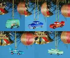 Disney Cars Hudson Lightning McQueen Decoration Xmas Tree Ornament Decor 5pcs