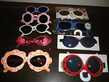 MIXED LOT OF SUNGLASSES GIRLS 2-3-4 YEARS GYMBOREE AND OTHER BRANDS