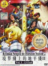 Kyoukai Senjou No Horizon Season 2 DVD Eps : 1 to 13 end (ENG SUB)