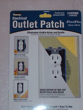 LOT 28 Electrical Outlet Drywall Wall Patch Repair Kit HOMAX 4 3/4 x 6 3/8 NIP