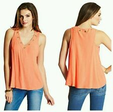 GUESS BY MARCIANO JANET SLEEVELESS TANK TOP