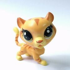 Original LPS Littlest Pet Shop Tiger Animal Hasbro Figure Boy Girl Dolls Toys