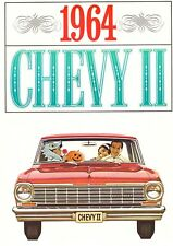 1964 Chevrolet Chevy II Nova Wagon Dealer Sales Brochure