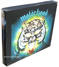 MOTORHEAD CD x 2 Overkill DIGI-PK UK 2015 Remastered Delux with LIVE + Promo Sht