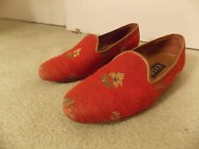 Red Zalo Loafers