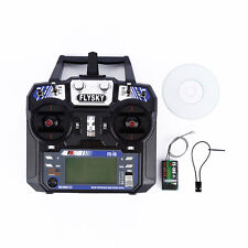 FLY SKY FS-I6 i6 2.4G 6CH RC Remote Control Radio Model Transmitter + Receiver ✿