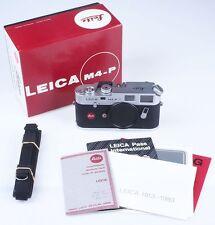 Leica M4-P M4P silber (1913-1983) 10416 neu, new, OVP, boxed Art. 1724