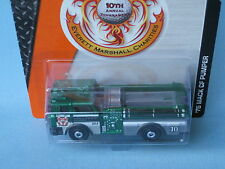 MATCHBOX 1975 Mack CF FIRE ENGINE Rescue EM GOLF TOURNAMENT 2015 VERDE