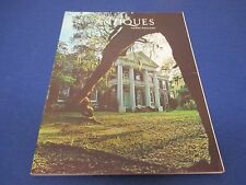 The Magazine Antiques, March 1977, Auburn in Natchez Mississippi photo, Helga