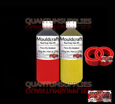 Mouldcraft Red Poly Flex 85 Shore Fast Cure 250g Polyurethane Casting Rubber