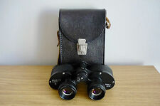 EXCELLENT RUSSIAN USSR 6 x 24 KOMZ WIDE ANGLE  BINOCULARS WITH BLACK CASE.