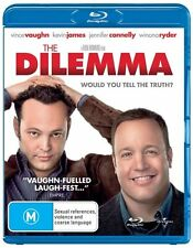 The Dilemma - Blu Ray ss Region B VG Condition