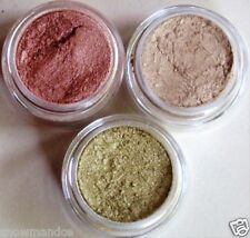 MINERAL MAKEUP~BARE~3 set~EYESHADOW~LOOSE POWDER~MICA~BEIGE~PINK~PIGMENT~glimmer