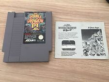 DOUBLE DRAGON III (3) PAL A for the NINTENDO NES Comes as CART AND INSTRUCTIONS