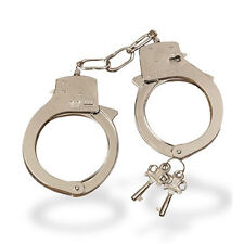 Metal Handcuffs love cuffs fancy dress police costume sex cuffs kinky toys