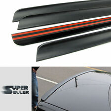 99-05 BMW E46 4D SEDAN REAR BOOT TRUNK LIP SPOILER 330i 325i