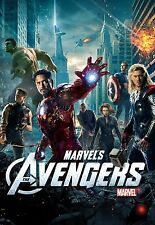 The Avengers Movie Poster (24x36) - Iron Man Captain America Black Widow Thor