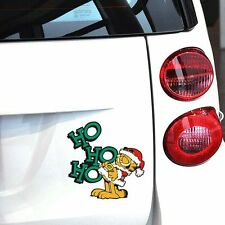 Fun car decal/ sticker of Garfield For Christmas HoHo Car / Window/ Wall/ Room