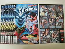 DC Comics SUPERMAN THE NEW 52! Helspont's Pawn of steel Comic Book lot of 9