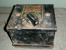 AMERICAN FLYER NO.3 TRANSFORMER A.C. GILBERT CO. 50 WATTS ROUGH UNTESTED SHAPE