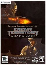 ENEMY TERRITORY  QUAKE WARS    EDITION COLLECTOR LIMITEE         -----   pour PC