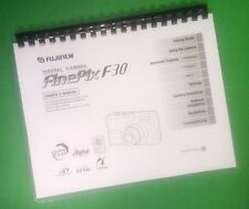 COLOR PRINTED Fujifilm Camera FinePix F30 Instruction Manual 164 Pages