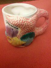 Florida Seashell & Starfish Souvenir Ceramic Coffee Mug