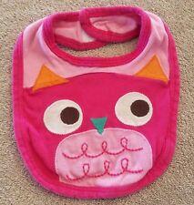 SWEET! BABIES R US ORGANIC OWL BABY BIB REBORN