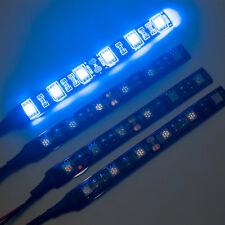 4 X 10 cm 5050 SMD 6 LED Strip Light for Car Caravan Boat SWB Van 12V Blue