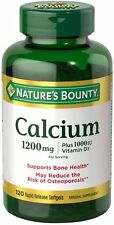 Nature Bounty Calcium plus vitamin d 1200mg Softgel 120ct
