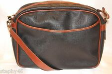 BOTTEGA VENETA Black Brown MARCO POLO Shoulder Crossbody Bag Made in Italy