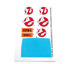 THE REAL GHOSTBUSTERS 'DIE CUT' REPLACEMENT STICKERS for KENNER ECTO-1 + EXTRA