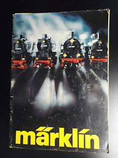 catalogue trains modelisme marklin 1977