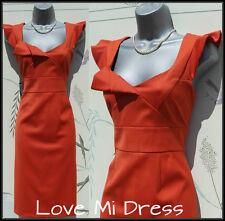 Principles - Gorgeous Fitted Origami Style Dress Sz 14 EU42 - Nouveau