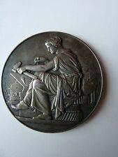 Médaille Bronze EXPO NAT DU TRAVAIL CLERMONT FD 1927 F.CHABAUD - H.DUBOIS