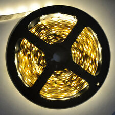 3528 SMD Warm White Non-waterproof Light Strip Flexible 300LED 60Led/m Lamp 5M