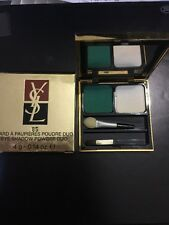 YSL Yves Saint Laurent EYE SHADOW Fard A Paupieres Poudre Duo #85 NIB