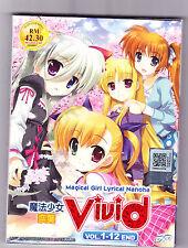 *NEW* MAGICAL GIRL LYRICAL NANOHA: VIVID *12 EPS*ANIME DVD*ENGLISH SUB*US SELLER