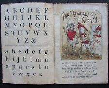 The Robber Kitten, 1870s, Indestructible Cloth Book, Colour illustrations