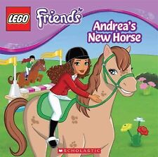 LEGO Friends - Andrea's New Horse (pb) by Jenne Simon  NEW