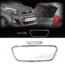 Chrome Radiator grill Molding Garnish B220 For KIA 2011-2013 2014 2015 Picanto