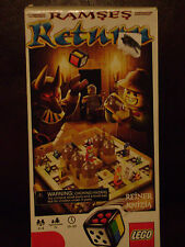 LEGO 3855 RAMSES RETURN DE RAMSES LE RETURN BOARD GAME MINT CONDITION