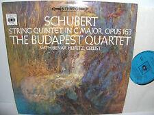 SBRG 72187 Schubert Quintet In C Major The Budapest String Quartet Benar Heifetz